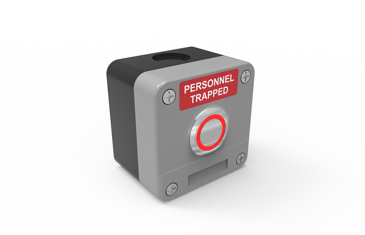 person trapped switch