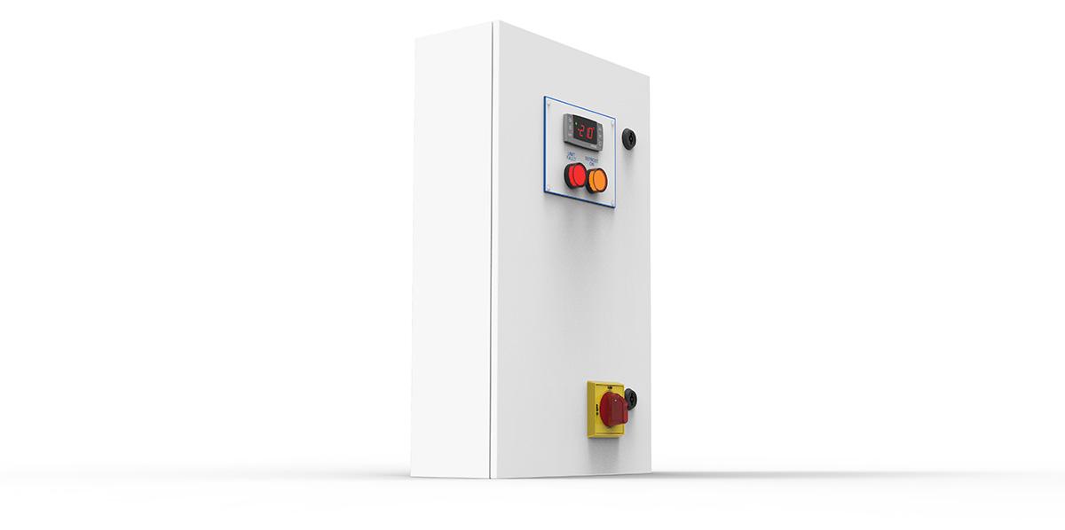 diamond range refrigeration control panel